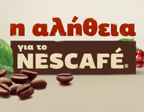 THE TRUTH ABOUT NESCAFE Website, Kinetic Animation