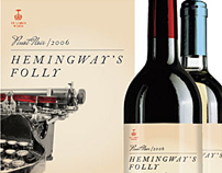 Hemingways Folly Wine Label