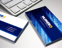 Numero Logo Redesign and Business Card