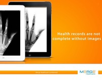 Merge Healthcare | PowerPoint cover concepts