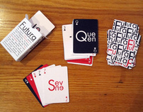 Futura Typographic Playing Cards