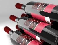 WINE LABELS for Grusignac Weinhaus