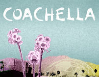 Coachella Website for Heavenspot