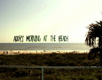 Addys Morning at the Beach