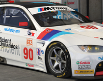 Rahal Letterman Racing BMW M3 GT2 (workflow study)