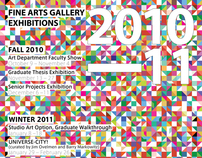 Poster Design for Fine Arts Gallery