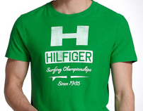 Tommy Hilfiger Mens Summer Surfing Tees