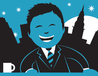 LATE NIGHT WITH JIMMY FALLON Cartoon Illustration