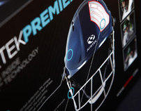 Ayrtek Helmets - rebranding and packaging