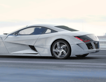 Mercedes Benz SF1 - Final Design