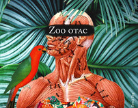 Pascale Petit, Zoo Father, cover and illustration