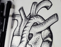 ILUSTRUTURA TATTOO Design - heart in cage
