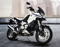 Honda Moto - Facebook page & Live Your Dream app.