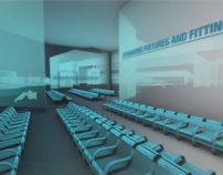 3D and Motion graphics video for Luton Airport video