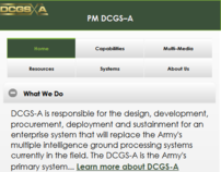 DCGS-A Mobile Website