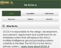 DCGS-A Mobile Website