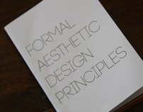 Formal Aesthetic Design Principles Booklet and Website