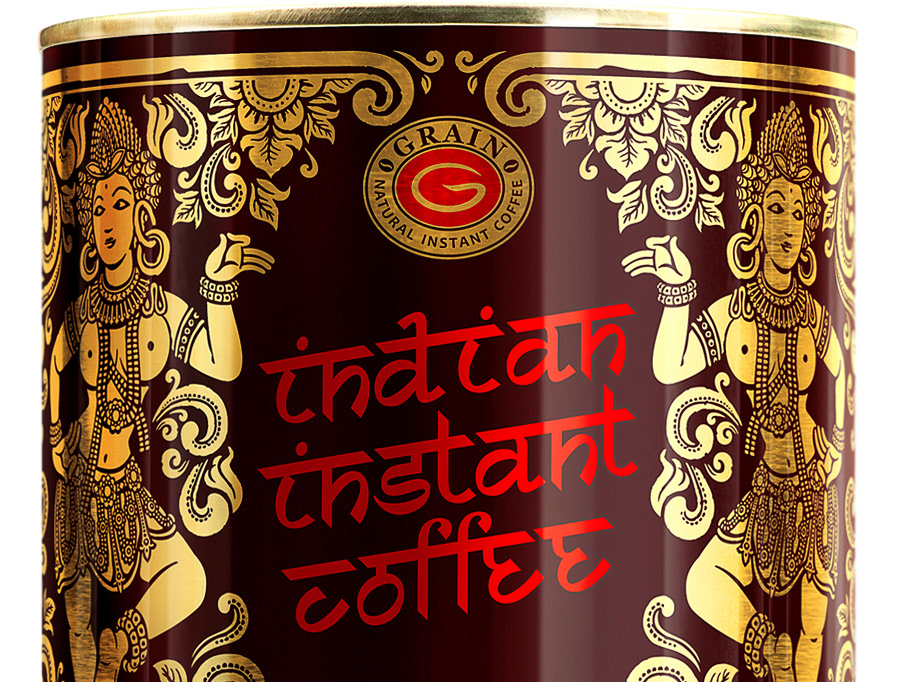 Coffee «Indian instant»