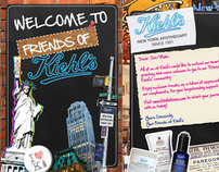 Friends of Kiehls Brochure Design