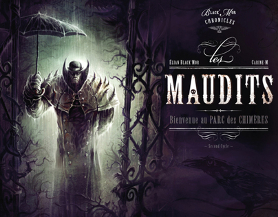 Graphic novel : Les Maudits