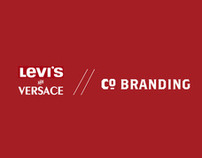 LEVI STRAUSS x VERSACE // Co. Branding