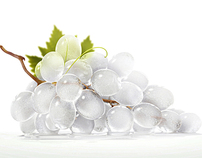 Iced Grapes