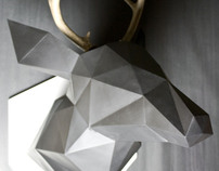 TRIANGULATED: Geometric Animal Busts - Series I
