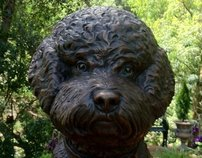 Custom Bronze Dog Statues and Dog Portraits