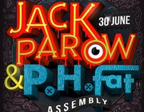 Jack Parow-P.H. Fat Poster