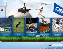 Optimum Sports Website