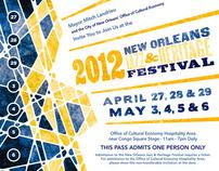 Jazzfest 2012 Mayor's Guest pass