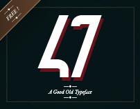 47 - Free Typeface