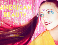 AMERICAN BEAUTY - published magazine spread