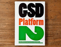 GSD Platform 2, Harvard Grad. School of Design, NY