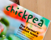 Editorial Design: vegeterian gourmet magazine