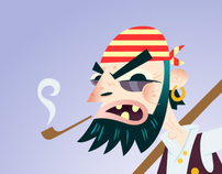 PIRATE.Illustration