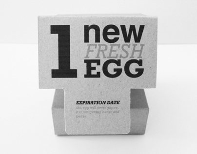 1 New Fresh Egg - Self Promotion