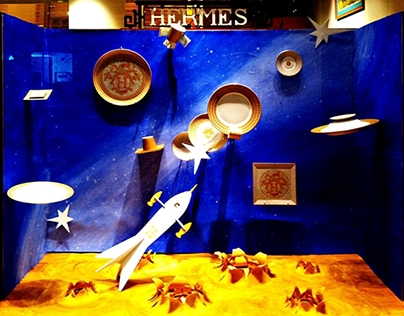 Fairytale - Hermès Window Display