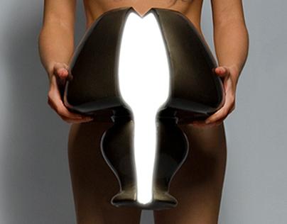 CREVICE LAMP by Maria Altukhova