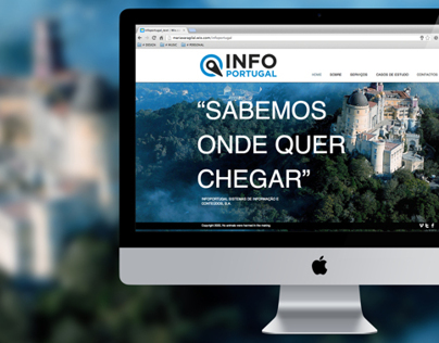 INFOPORTUGAL // Web Design