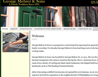 George Mehrer & Sons - Redesign
