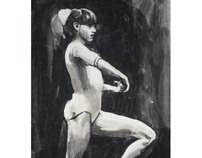 Nadia Comaneci artwork