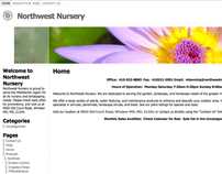 Northwest Nursery Web Design