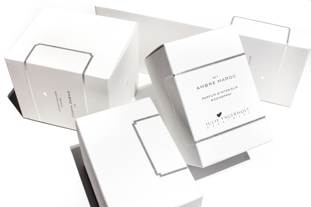 Julie Fagerholt Heartmade Fragrance Packaging
