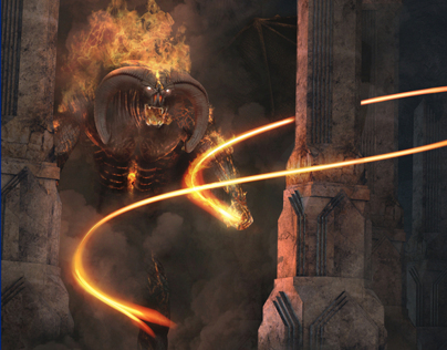 Balrog Scene (The Lord of the Rings)