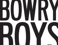 The Bowry Boys Logo