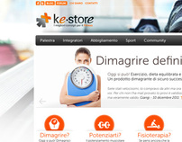 Kestore - website