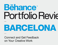 Behance Portfolio Reviews Visuals set