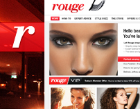 Rouge / Fashion + Beauty : Website