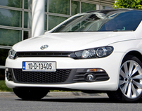 Volkswagen Photo Shoot to Scirocco Film Shoot
